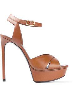 Saint Laurent Platform Sandals - Tessabit - Farfetch.com