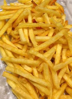 Franse frietjes (French fries)