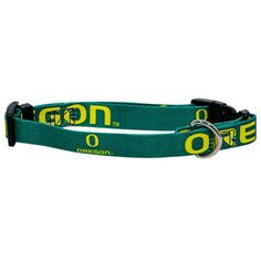 Oregon Ducks Pet Dog Collar (Small) * To view further for this item, visit the image link. (This is an Amazon affiliate link)