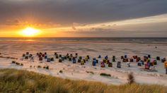 Alemania Germany Deutschland Juist Island Sunset on Juist