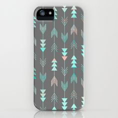 Aztec Arrows iPhone Case by Sunkissed Laughter - $35.00