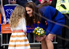 Duchess Kate-I can only imagine how happy that little girl is!