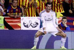 Sem CR7, Bale brilha, Real vence o Barça e é campeão da Copa do Rei - Sem CR7, Bale brilha, Real vence o Barça e é campeão da Copa do Rei - 16.04.2014