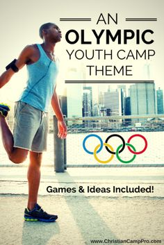 An Olympic Youth Camp Theme with Games and Ideas Included - Christian Camp Pro - Trend Camping Fashion 2020 Summer Camp Themes, Summer Day Camp, Summer Camp Activities, Summer Camps For Kids, Youth Activities, Indoor Activities, Summer Fun, Summer Ideas, Summer School