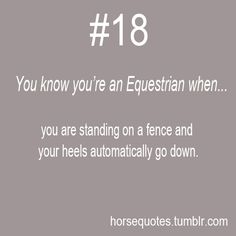 This happens ALL the time, also when im running my knees go up like a saddlebred, and my hands go up like im riding.