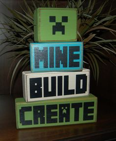 My son got a Minecraft bedroom for Christmas and he has been begging me to make…