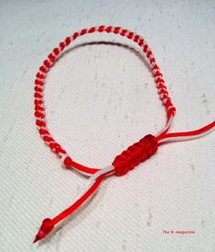 Martis  bracelet, march bracelets, greek traditional bracelet