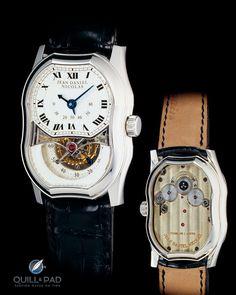 Jean Daniel Nicolas Two-Minute Tourbillon by Mr. Daniel Roth in platinum form case