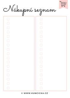 Jak šetřit, plánovat a nakupovat jídlo? S plánovačem to jde jedna báseň - Kuncicka.cz Bar Chart, Line Chart, Filofax, Bullet Journal, Finance, Fitness, Bar Graphs, Economics