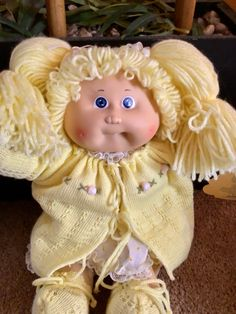 Barbie Stuff, Barbie Dolls, Dolls From The 80s, Welcome New Members, Vintage Umbrella, Cabbage Patch Kids Dolls, Smiling Faces, Open Arms, First Tooth
