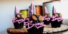 Beyoncé's 'Drunk in Love' Cupcake Recipe