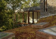Pontfaen, Brecon, Wales, — The Modern House Estate Agents: Architect-Designed Property For Sale in London and the UK Sweet Home, Modular Homes, Dezeen, Residential Architecture, Exterior Design, Property For Sale, Waterfall, New Homes, House Styles