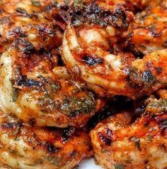 Marinated Grilled Shrimp ~ Homemade recipes every days