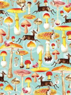 Woodland #mushrooms #kitsch