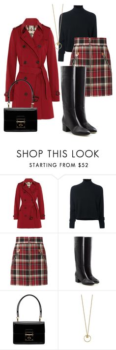 """For the love of good boots 😉"" by tammydevoll ❤ liked on Polyvore featuring Burberry, Le Kasha, rag & bone, Sergio Rossi and Dolce&Gabbana"