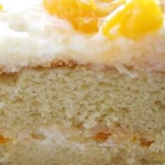 Mandarin Orange Cake I recipe from Allrecipes. Ingredients: 1 ounce) package yellow cake mix, 4 eggs, 1 cup vegetable oil, 1 ounce) can mandarin orange segments, 1 ou. Orange Pineapple Cake, Pineapple Pudding, Pineapple Frosting, Crushed Pineapple, Cake Mix Recipes, Dessert Recipes, Easy Desserts, Delicious Desserts, Yummy Treats