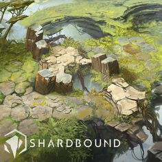 Shardbound - Environment Vis Dev, David Alvarez on ArtStation at https://www.artstation.com/artwork/NzOaN