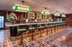 London - America's Favourite Steakhouse Situated in the architecturally significant Adelphi building this restaurant was the first venture Outside of the External Lighting, Smart Design, Lighting Design, The Outsiders, Restaurant, London, Interior Design, Luxury, Building