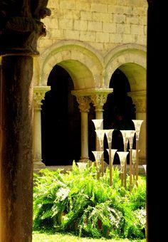 Claustro de la Catedral de Girona.
