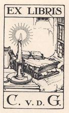 Ex Libris Anton Pieck : C. v.d. G.