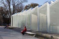 The Christchurch Botanic Gardens Visitor Centre by Patterson Associates. Christchurch, New Zealand.   http://pattersons.com/civic/christchurch-botanic-garden-centre/