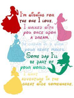 Princesses Phrases