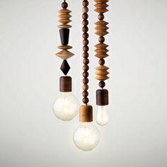 Bright Beads Three Cluster Light // lighting