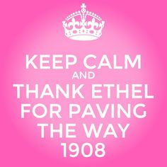 Yeeeeeeesssssssss!!! Ethel knew best!!