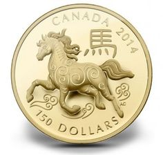 2014 Year of the Horse Coins from Royal Canadian Mint | The Royal Canadian Mint expands its popular series of strikes celebrating the Chinese zodiac with six new precious metal releases. These include new 2014 Year of the Horse Gold and Silver Coins.