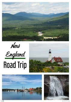 Planning a New England road trip -- a week week itinerary for hitting all 6 New England states in one week -- on a budget!