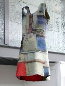 Blog de créatrice textiles professionnels, spécialisées dans le feutre de laine. Feutre art textile.