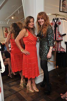 Jade Jagger and Charlotte Tilbury