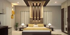 Prodigious Tricks: False Ceiling Design With Fan false ceiling bedroom wallpapers.False Ceiling Diy false ceiling design with fan. House Ceiling Design, Ceiling Design Living Room, Bedroom False Ceiling Design, Luxury Bedroom Design, Bedroom Furniture Design, Master Bedroom Design, Fall Ceiling Designs Bedroom, Interior Design, Interior Decorating