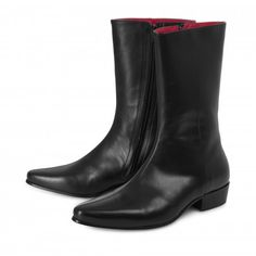From the Beatwear Lennon Boot Collection The Low Lennon boot in Black Calf Leather Premium Italian Calf Leather FinishLonger than the other boots in the range. Mens Shoes Boots, Men's Shoes, Chelsea, Fashion Boots, Mens Fashion, Wide Feet, Cool Boots, Dress With Boots, Calf Leather