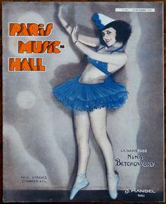 La Danseuse Nina Betchowsky. Paris Music-Hall No. 251, 15 Décembre1931. [Pinned 25-v-2016]