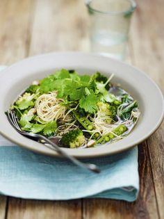 Green dream noodles   Jamie Oliver
