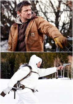 Jeremy Renner as Cory Lambert in Wind River (2017)
