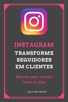 Você tem muitos seguidores, até tem curtidas, mas não consegue gerar vendas? Descubra como transformar seguidores em clientes e vender todos os dias! #instagram #dicasdeinstagram #empreendedorismo #vendas #ganhardinheiro #trabalharpelainternet #copa2018