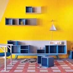 Credenza con vani a giorni Turan, proposta in un'ampia gamma di finiture e modelli per ogni gusto da scoprire.  #Design #HomeInterios #Arredamento