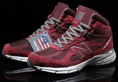 New Balance 990v4 Mid Burgundy Pigskin Available Now | SneakerNews.com