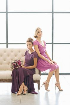 Ceremony by Joanna August | Cool Bridesmaid Dresses | Bridal Musings Wedding Blog 6