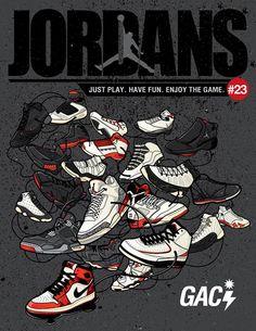 new arrivals 3e466 95117 Jordan I-XXIII Illustrations Jordan Shoes Wallpaper, Sneakers Wallpaper,  Jordans Sneakers, Nike