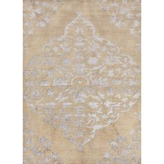 Heritage Collection Chantilly Rug in Moonlight & Frappe by Jaipur