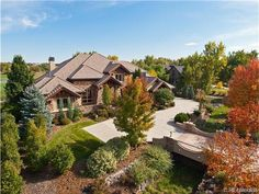 5850 S Watson Lane, Littleton- Custom home enclave near Downtown Littleton. Beaver Creek exterior with courtyards, decks and private spaces wired for sound.