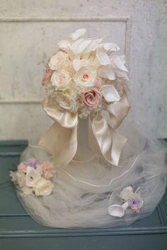 3月29日単発プリザーブドレッスン作成報告 次回は5月16日の画像:一会 ウエディングの花