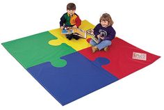 "72"" Square Toddler Puzzle Mat"