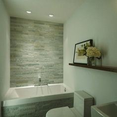 Modern Bathroom small modern bath Design Ideas, Pictures, Remodel and Decor