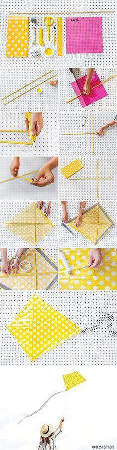 STEPS | DIY Polka Dot Kite