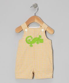 Yellow Gecko John Johns - Infant & Toddler