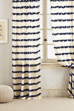 Swing Stripes Curtain - anthropologie.com #anthropologie #AnthroFave